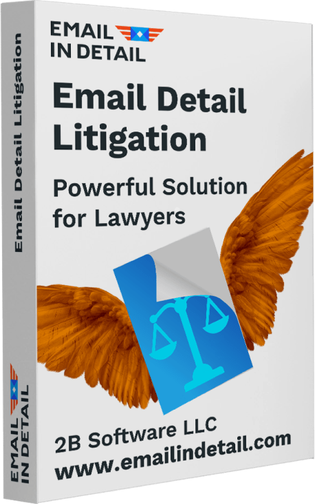 Email Detail Litigation 2B Software