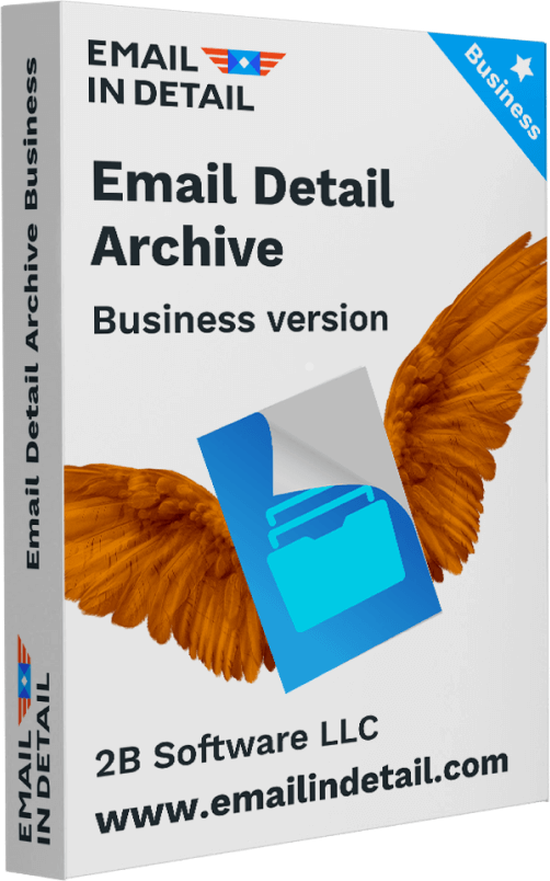 Email Detail Archive for business