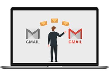 transfer gmail to gmail