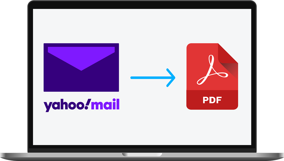 yahoo mail to pdf